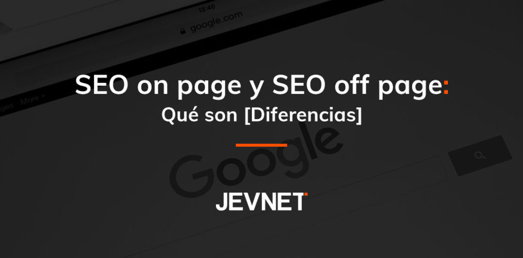 seo on page off page diferencias