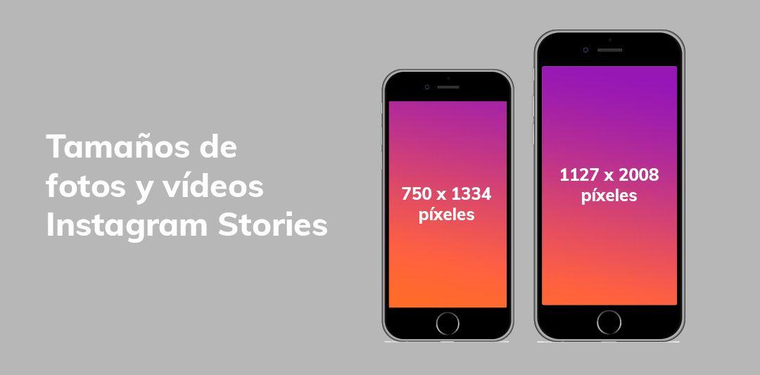 Tamaños stories Instagram