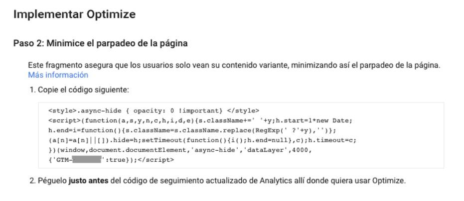 Como implementar Google Optimize parte 2