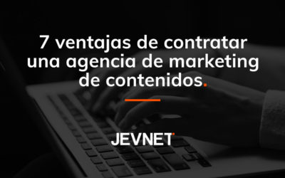 Agencia marketing de contenidos