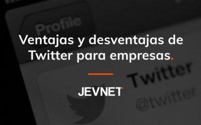 Ventajas y desventajas de Twitter para empresas