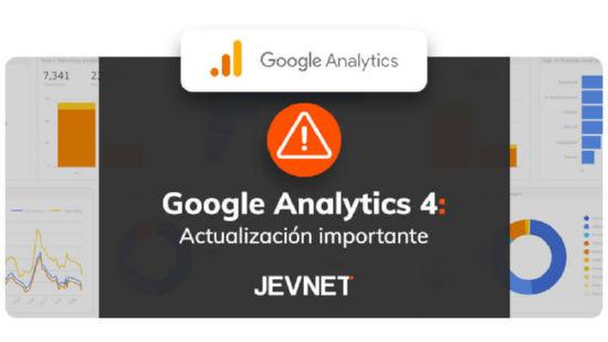 Actualización Googel Analytics 4