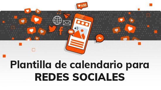 Plantilla de calendario para Redes Sociales