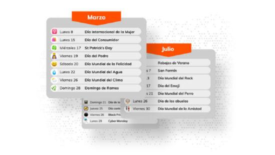 calendario del Community Manager definitivo para 2021