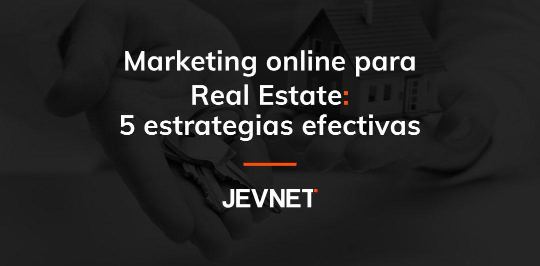 Marketing online para real estate
