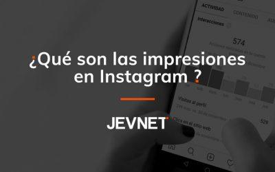 ¿Qué son las impresiones en Instagram?